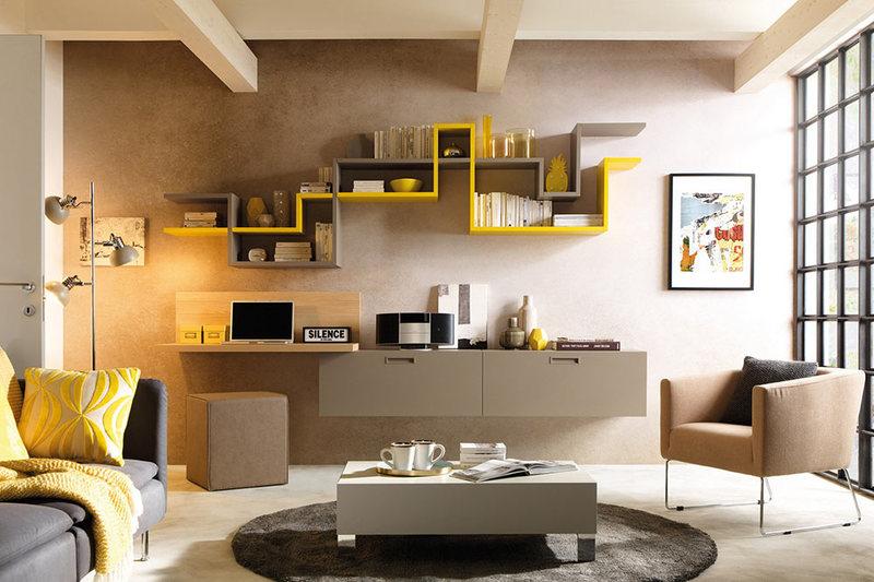 pareti attrezzate moderne come arredarle news gabetti