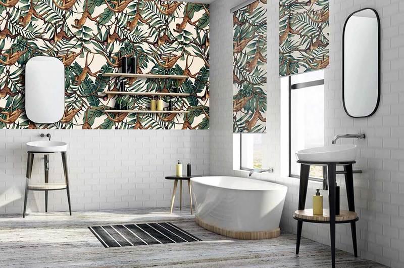 Arreda il tuo bagno con tende eleganti