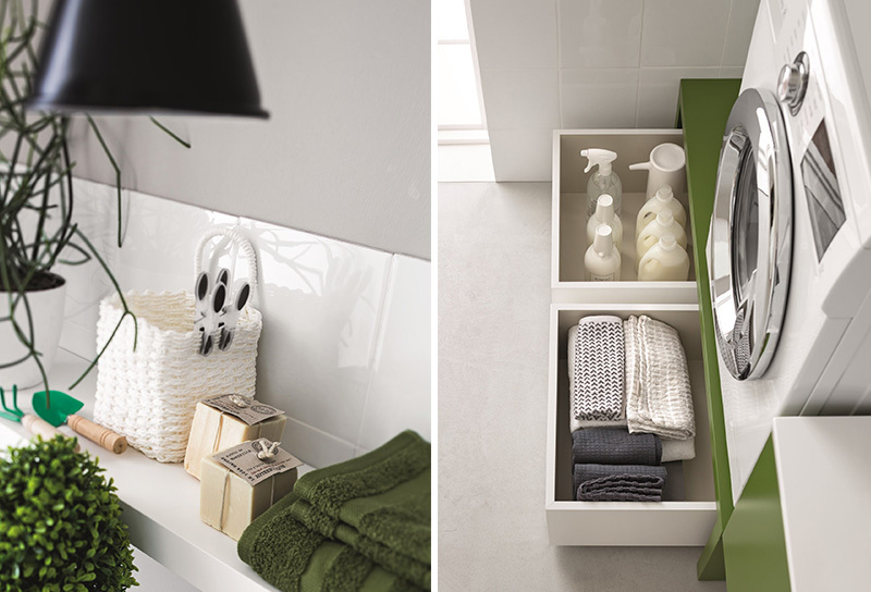 Mobile lavanderia per arredare la tua casa