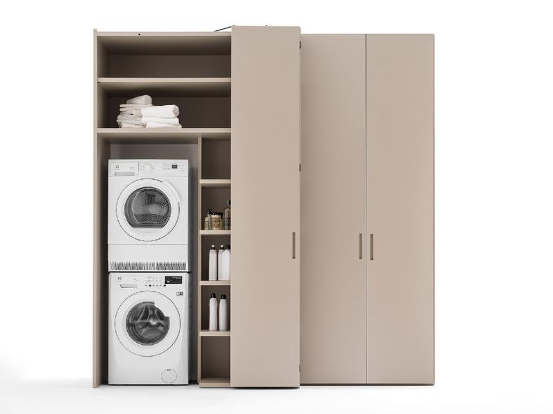 Mobile lavanderia per lavatrice