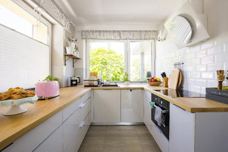 Cucina di casa decidere per quali tende