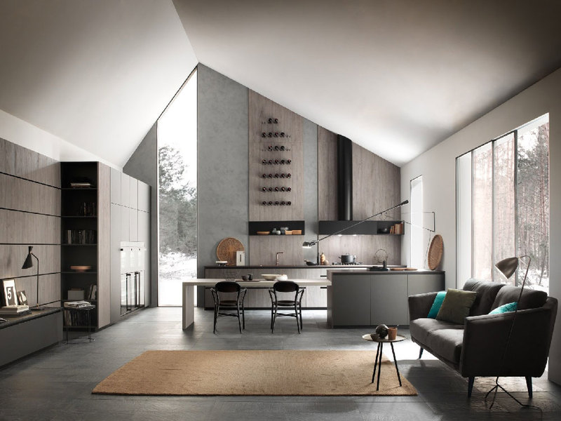 Come arredare la cucina in un open space: idee