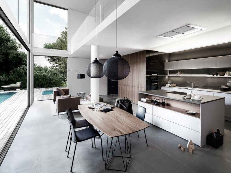 Arredare una cucina moderna in un open space