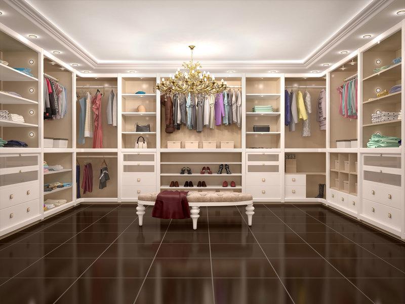 Una cabina armadio di grande design