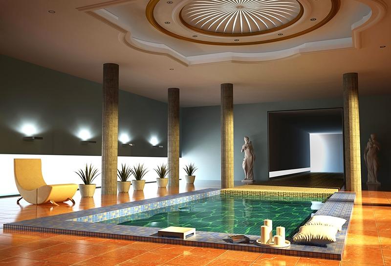 Godi il relax della tua piscina interna