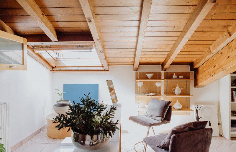 Tante idee per il soffitto con le travi a vista gabetti - Arredare casa con travi a vista ...