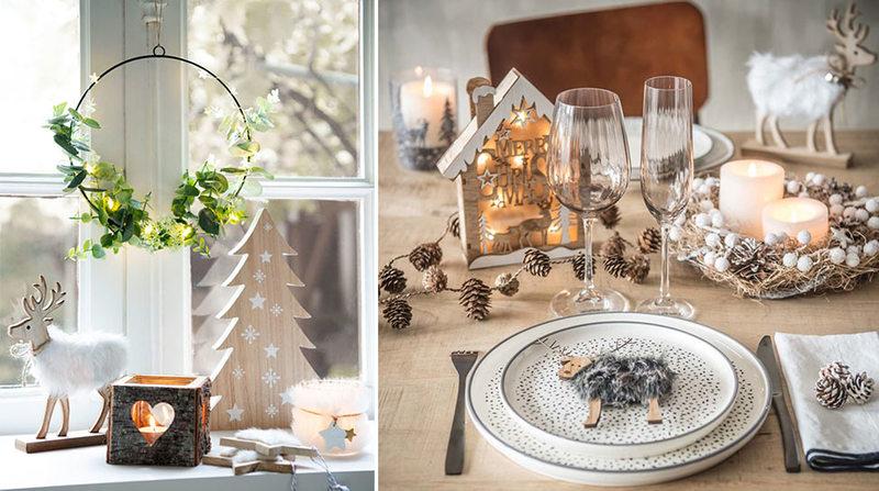 Decorazioni natalizie total white per la tua casa