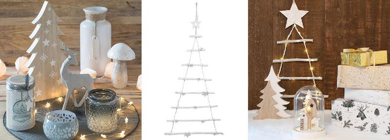 Decorazioni natalizie total white, idee