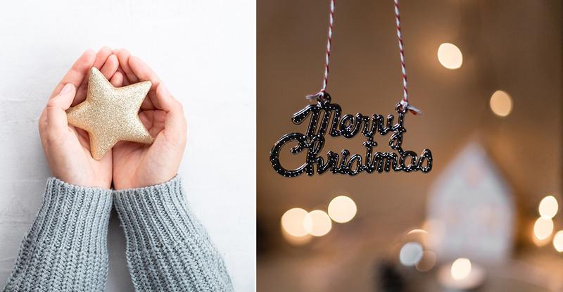 Decorazioni natalizie originali, due idee fai da te