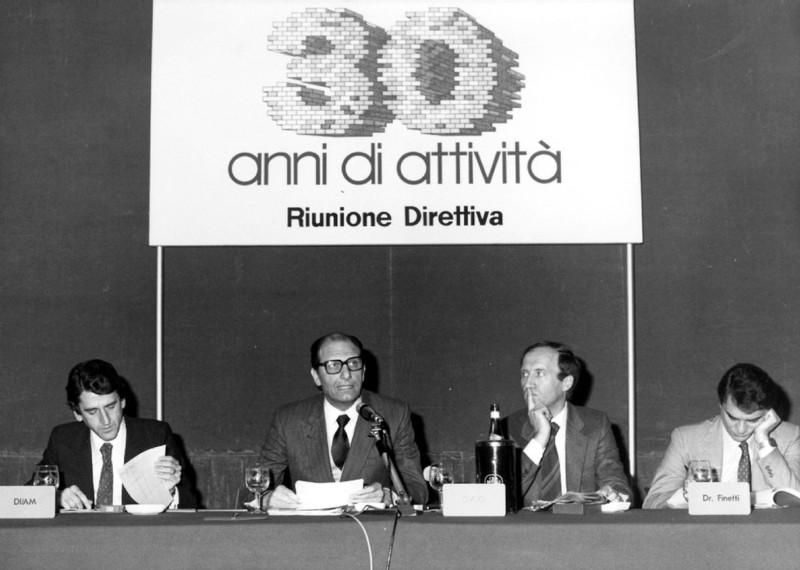 Riunione direttiva Gabetti - foto storiche