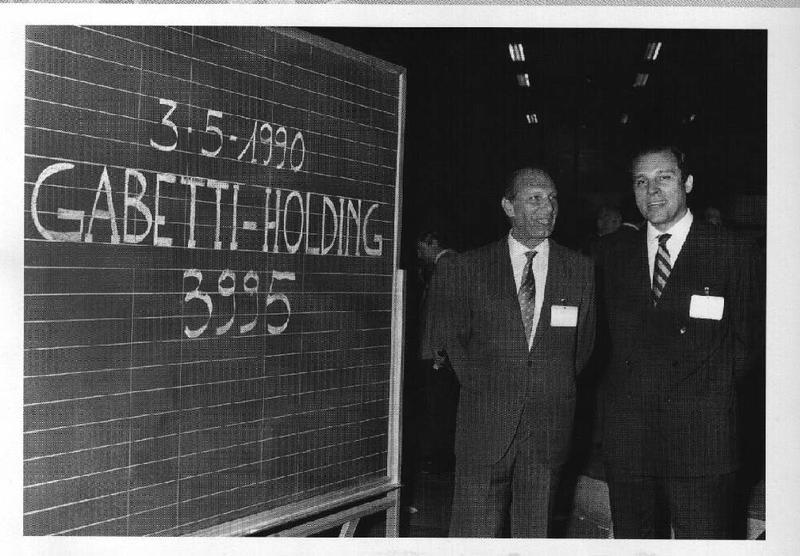 Primi a essere quotati in Borsa: 1990