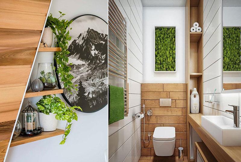 Giardini verticali di design, modelli