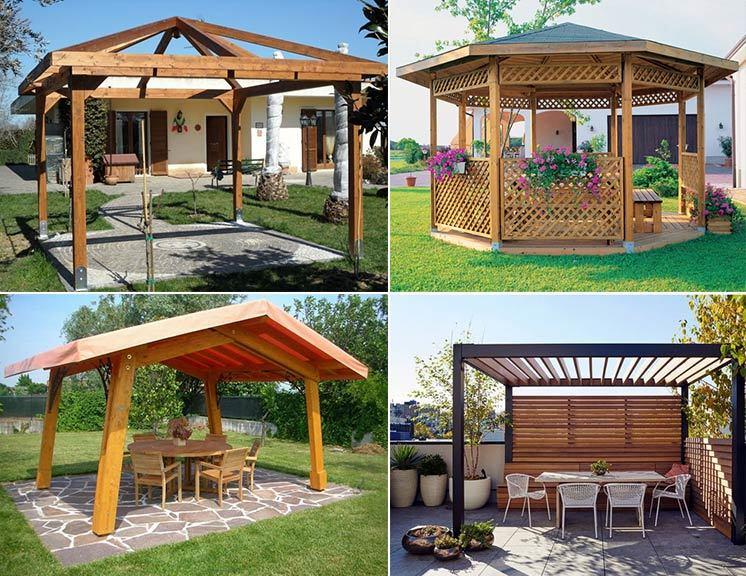 Gazebo in legno, crea il tuo angolo di relax nell'outdoor