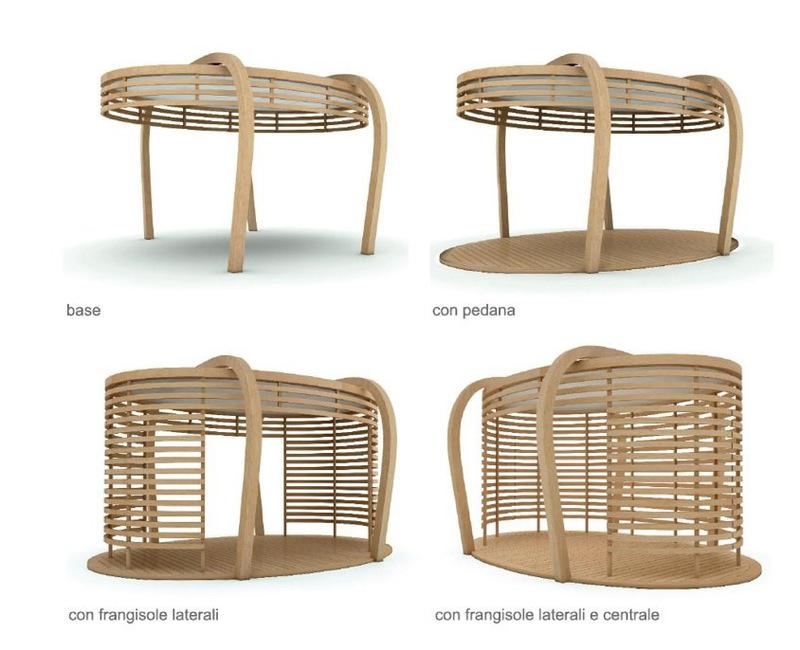 Gazebo in legno, modelli