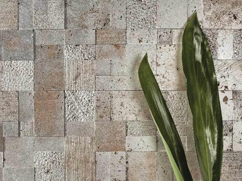 Rivestimento in pietra naturale per interni, idee di arredo